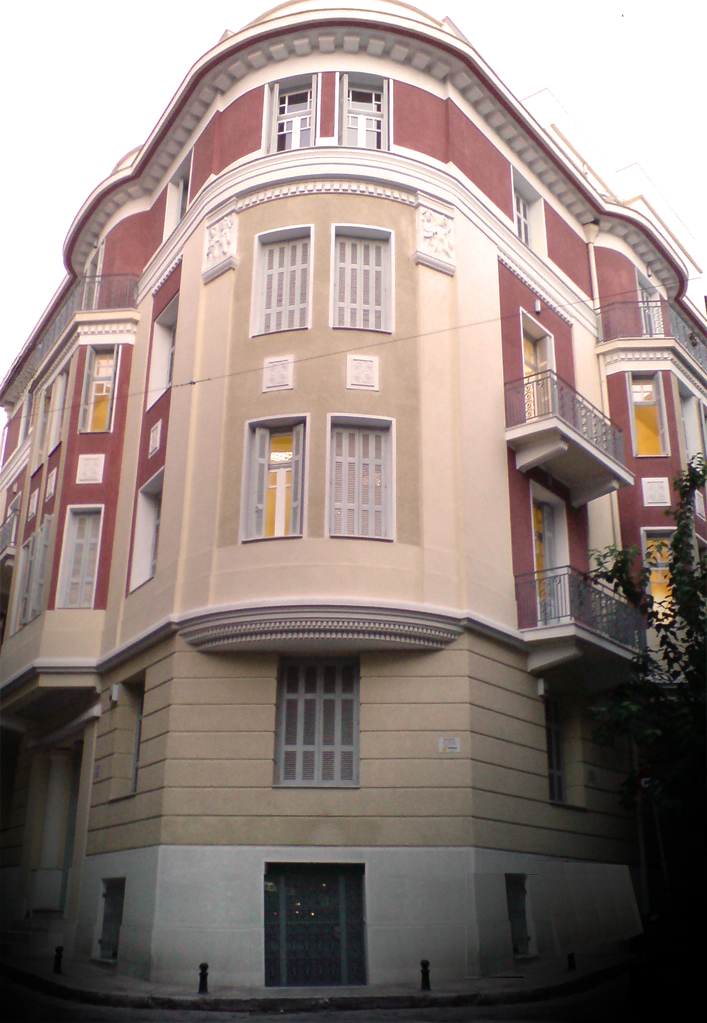 Our building in Exarcheia