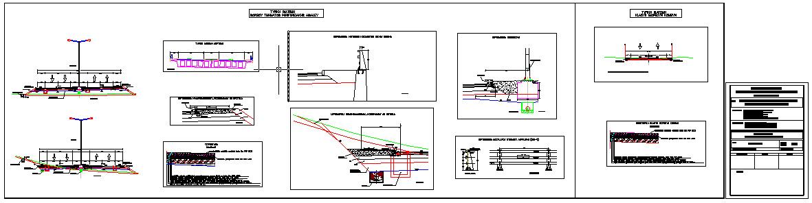 Οριστική μελέτη οδοποιίας – κόμβων και σήμανσης στη μελέτη «Ολοκλήρωση Δυτικής Περιφερειακής Αιγάλεω - τμήματα και εκατέρων δίκτυα»